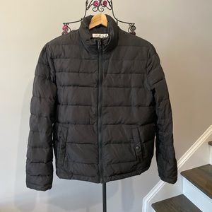 Kenneth Cole Black Winter Puffer Jacket Size Small
